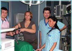 Лапароскопска гинекологична хирургия - първо ниво (10-12 септември 2008)